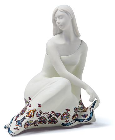 Nadal Figurine Calm White